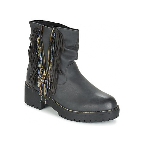 Coolway BARINA women's Mid Boots in Black