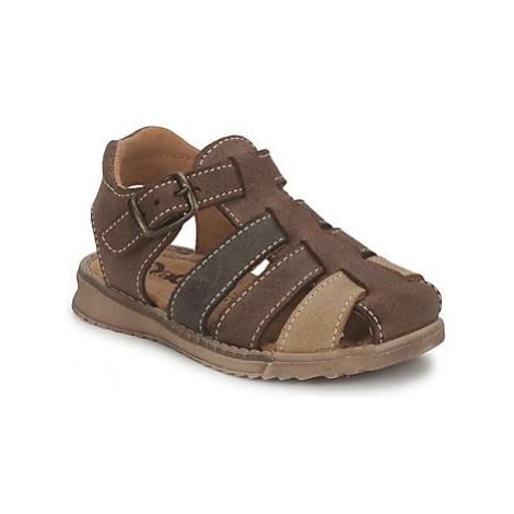 Citrouille et Compagnie ZIDOU boys's Children's Sandals in Brown