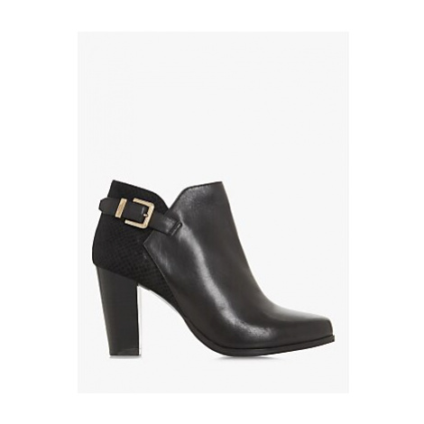 Dune Oleria Mixed Ankle Boots, Black