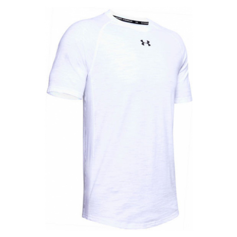 Under Armour CHARGED COTTON SS white - Men's T-Shirt