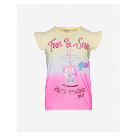 Guess Kids T-shirt Pink Yellow
