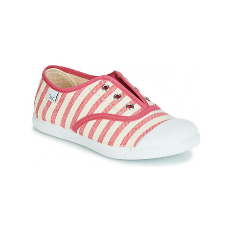 Citrouille et Compagnie RIVIALELLE girls's Children's Shoes (Trainers) in Pink