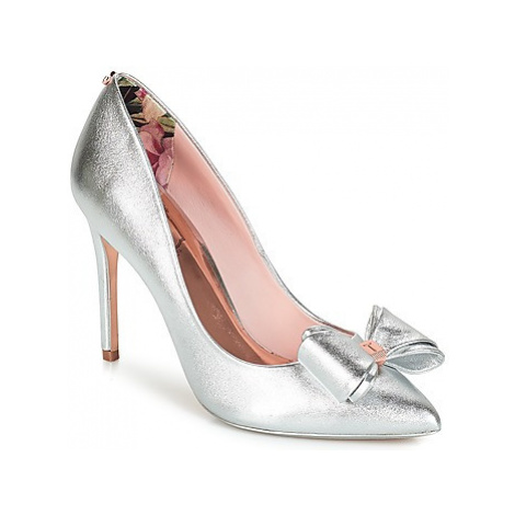 Ted Baker AZELINE women's Court Shoes in Silver