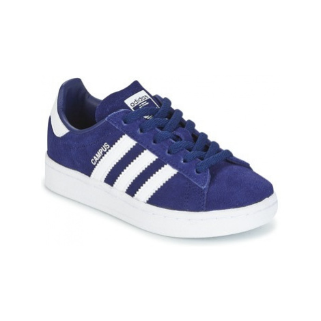 Adidas CAMPUS C boys's Children's Shoes (Trainers) in Blue