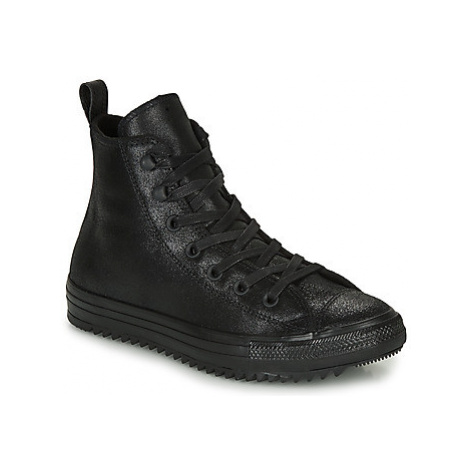 Converse CHUCK TAYLOR ALL STAR HIKER WAXED SUEDE BOOT HI women's Shoes (High-top Trainers) in Bl
