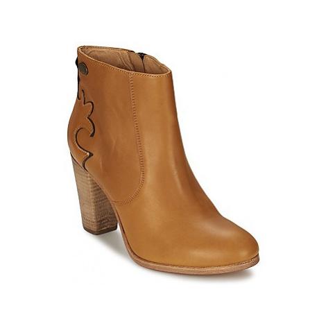 Ikks W BOOTIE women's Low Ankle Boots in Brown