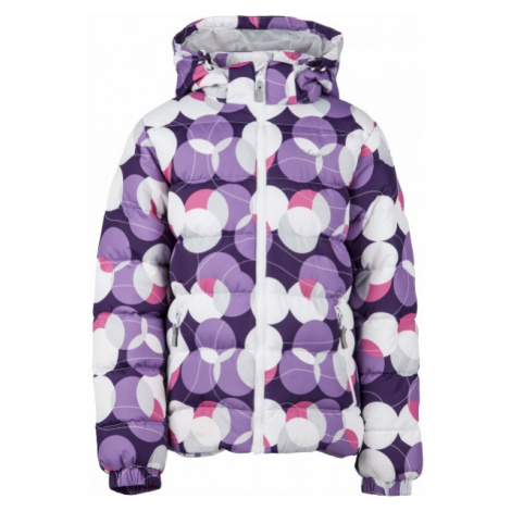 Lewro FANNY 140-170 purple - Kids' quilted jacket