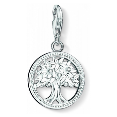 Ladies Thomas Sabo Sterling Silver Charm Club Tree of Life Charm 1303-051-14
