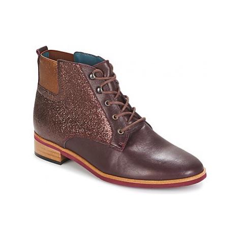 Karston JIVA women's Mid Boots in Brown