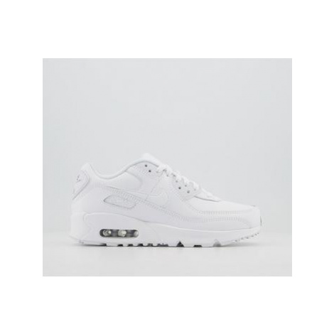Nike Air Max 90 Gs WHITE WHITE WHITE