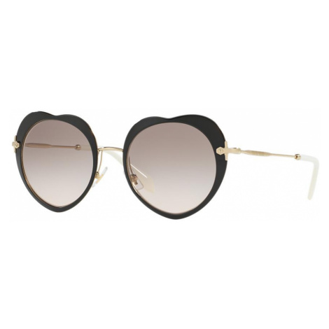 Miu Miu Woman MU 54RS - Frame color: Black, Lens color: Grey-Black, Size 52-20/140