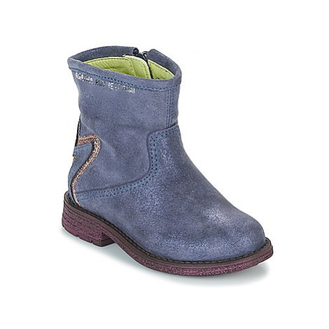 Agatha Ruiz de la Prada 181970 VAGABUNDA girls's Children's Mid Boots in Blue