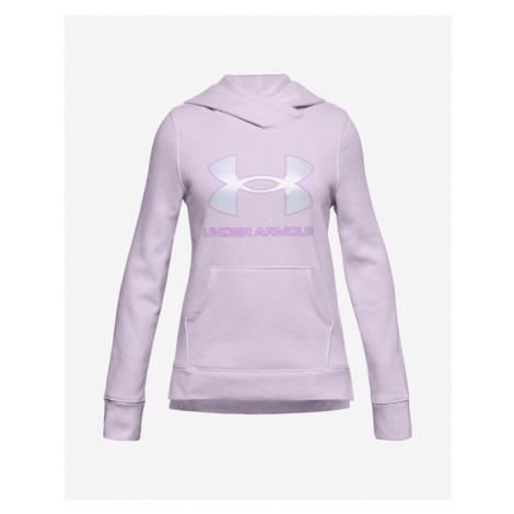 Under Armour Rival Fleece Logo Kids Sweatshirt Violet