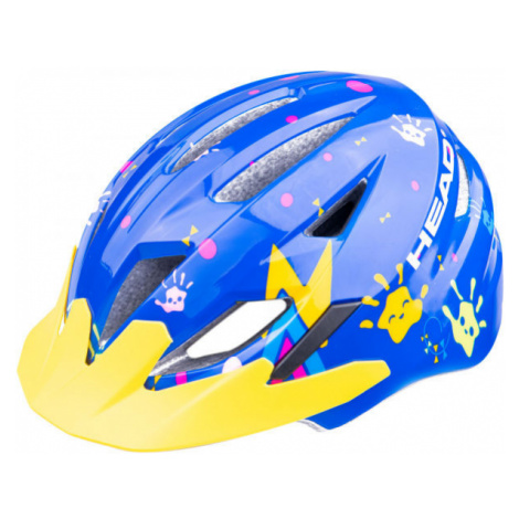 Head Y11A OUT MOULD blue - Kids' cycling helmet