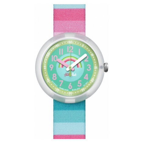 Childrens Flik Flak Stripy Dreams Watch