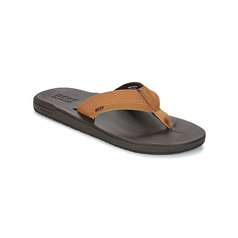Reef CONTOURED CUSHION men's Flip flops / Sandals (Shoes) in Brown