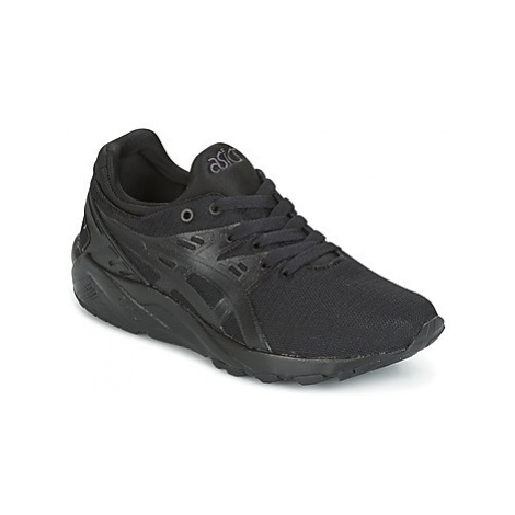 Asics GEL-KAYANO TRAINER EVO girls's Children's Shoes (Trainers) in Black