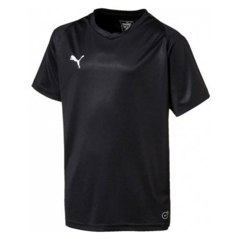 Puma LIGA JERSEY CORE JR black - Children's T-shirt