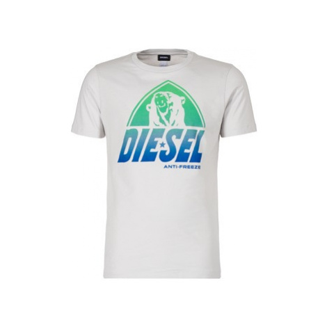 Diesel PARSEN men's T shirt in Grey
