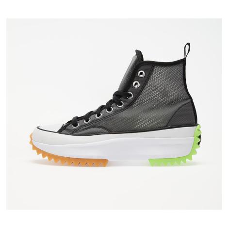 Converse Run Star Hike Hi Black/ White/ Ghost Green