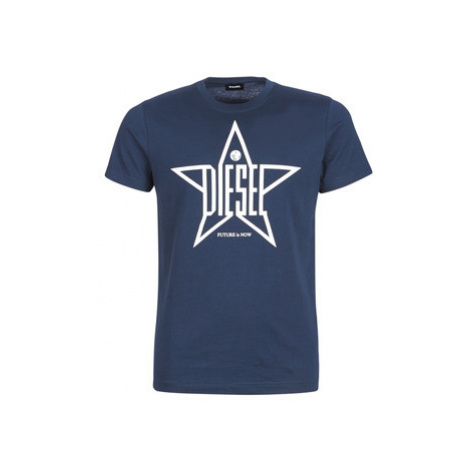 Diesel T DIEGO YH men's T shirt in Blue