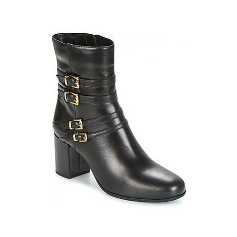 Unisa OPRA women's Low Ankle Boots in Black