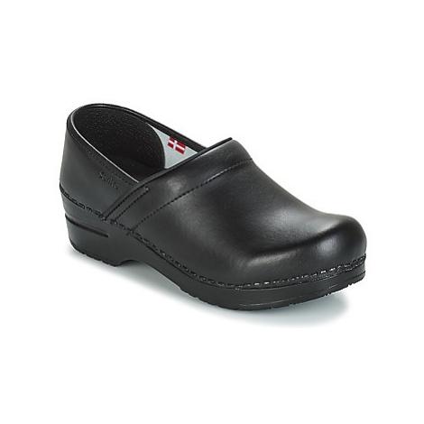 Sanita PROF men's Clogs (Shoes) in Black