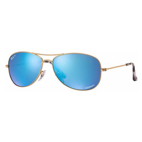 Ray-Ban Rb3562 chromance Man Sunglasses Lenses: Blue Polarized, Frame: Gold - RB3562 112/A1 59-1