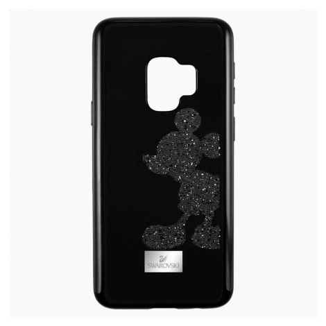 Mickey Body Smartphone Case with integrated Bumper, Galaxy S®9, Black Swarovski