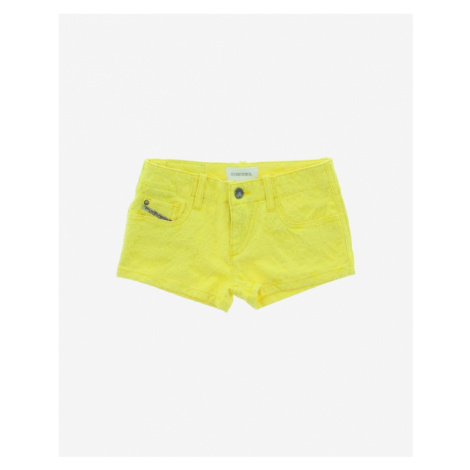 Diesel Kids Shorts Yellow