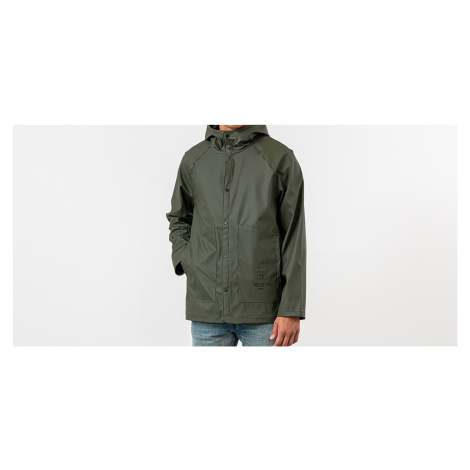 Herschel Supply Co. x Jean-Michel Basquiat Rainwear Jacket Dark Olive/ Record
