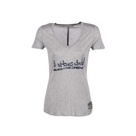 Desigual TEDEROA women's T shirt in Grey