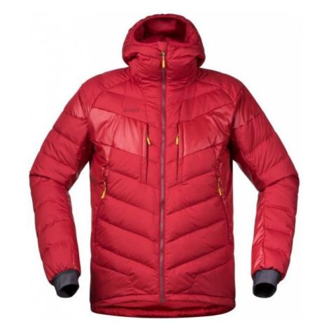 Bergans NOSI HYBRID DOWN JKT red - Men's insulated jacket