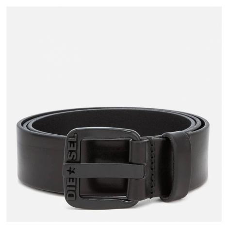 Diesel Men's B-Star Leather Belt - Black - W40/100cm - Black