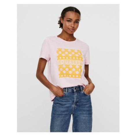 Vero Moda Atenaolly T-shirt Pink