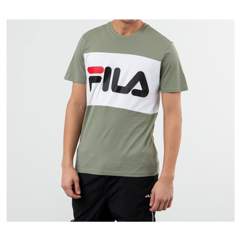 FILA Men Day Tee Sea Spray/ Bright White