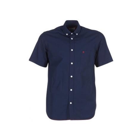 Serge Blanco CHC1390 men's Short sleeved Shirt in Blue