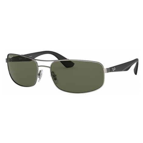 Ray-Ban Rb3527 Man Sunglasses Lenses: Green Polarized, Frame: Black - RB3527 029/9A 61-17