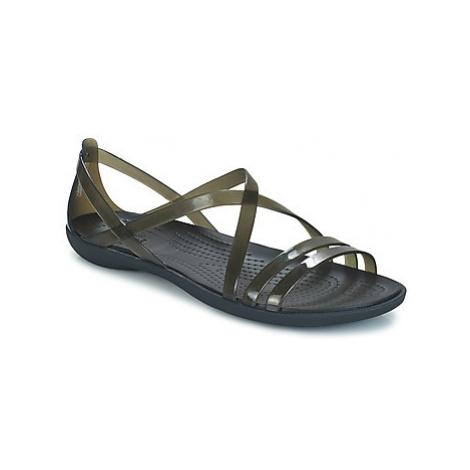 Crocs ISABELLA STRAPPY SANDAL W women's Sandals in Black
