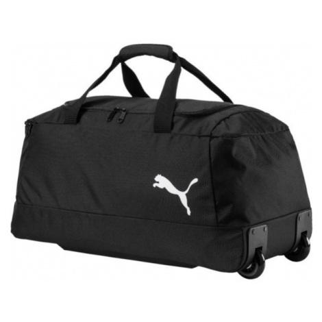 Puma PRO TRAINING II WHEEL BAG black - Sports wheel bag
