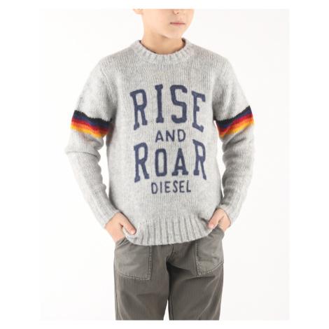 Diesel Klash Kids sweater Grey