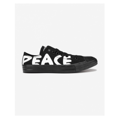 Converse Chuck Taylor All Star Peace Powered Sneakers Black