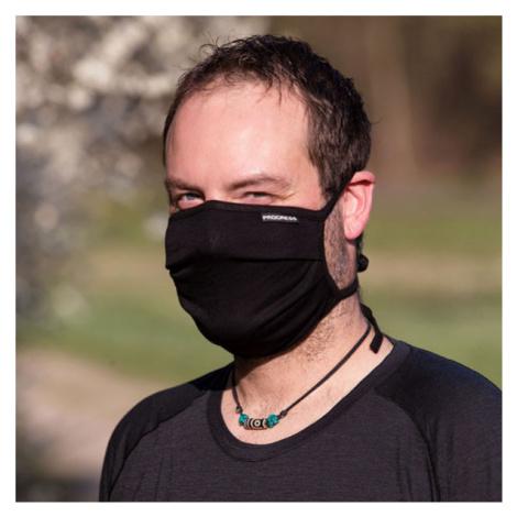 Progress FOLDED MASK black - Mask PROGRESS, folded.