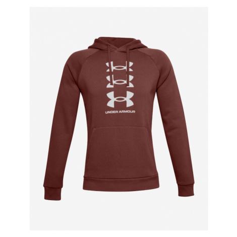Under Armour Rival Fleece Multilogo Sweatshirt Red