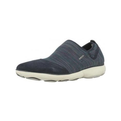Geox D NEBULA B women's Slip-ons (Shoes) in Blue