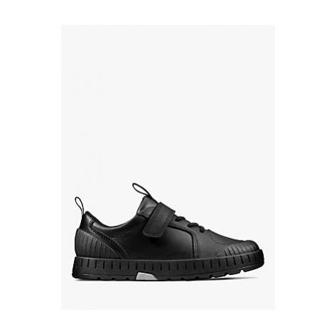 Clarks Children's Apollo Step Shoes, Black