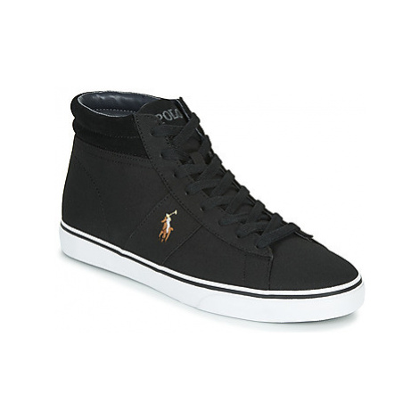 Polo Ralph Lauren SHAW men's Shoes (High-top Trainers) in Black
