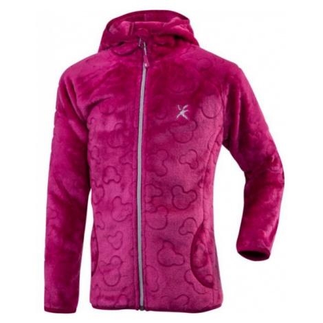 Klimatex BATTY pink - Girls' plush hoodie