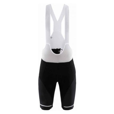Craft HALE BIB BLK white - Men's short cycling tights