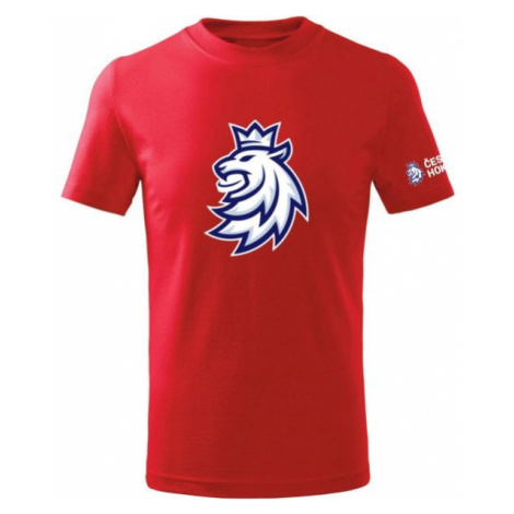 Střída LOGO LION CIHT red - Children's T-shirt